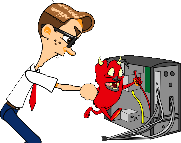 Техническая поддержка пользователей или встреча с вирусом-шифровальщиком